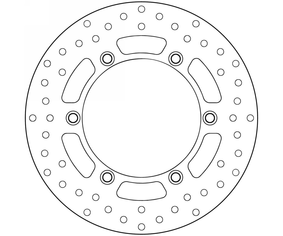Brake Disc Fixed Brembo Rear Moto Guzzi California Ev