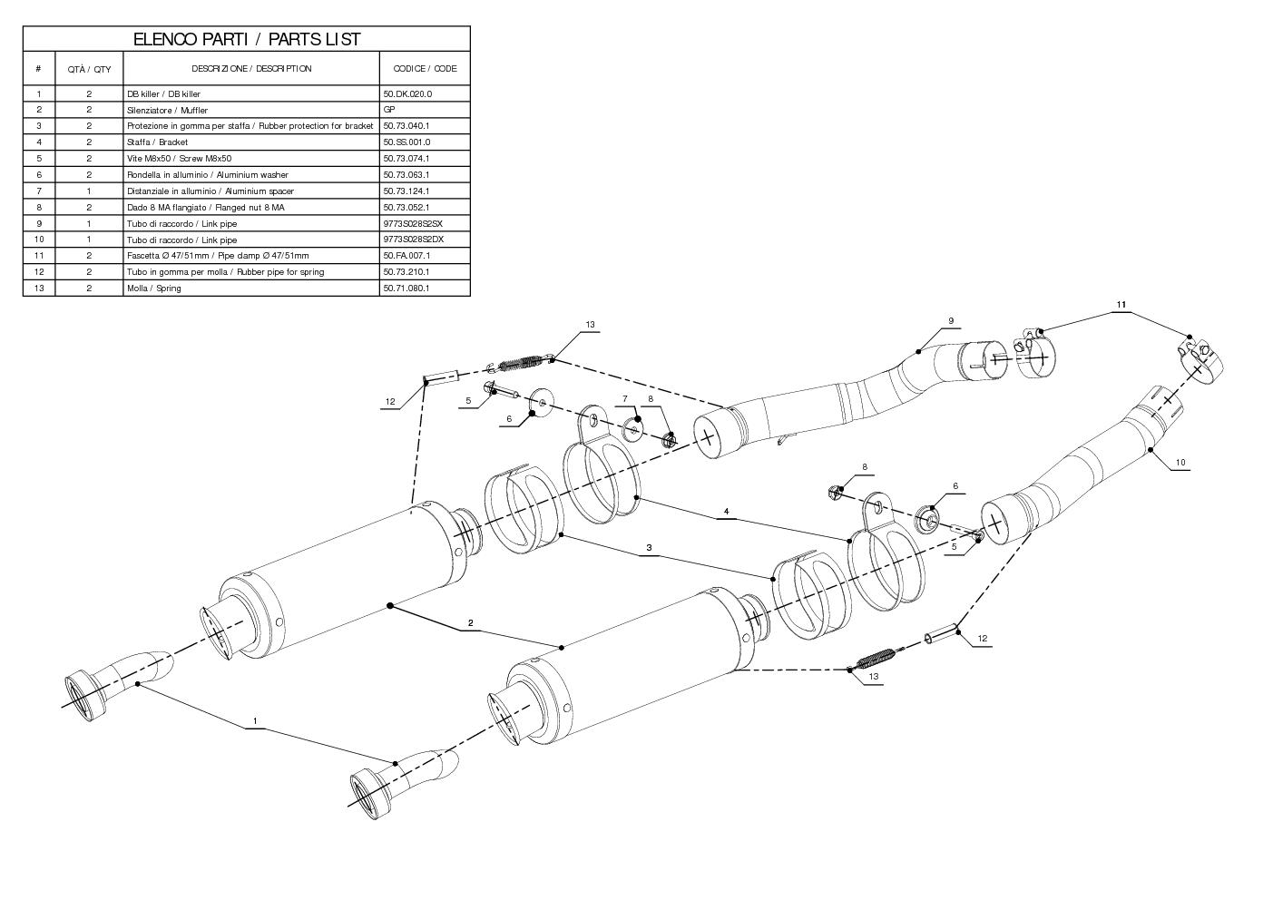 Mivv Approved Exhaust Mufflers GP Carbon Fiber for Suzuki