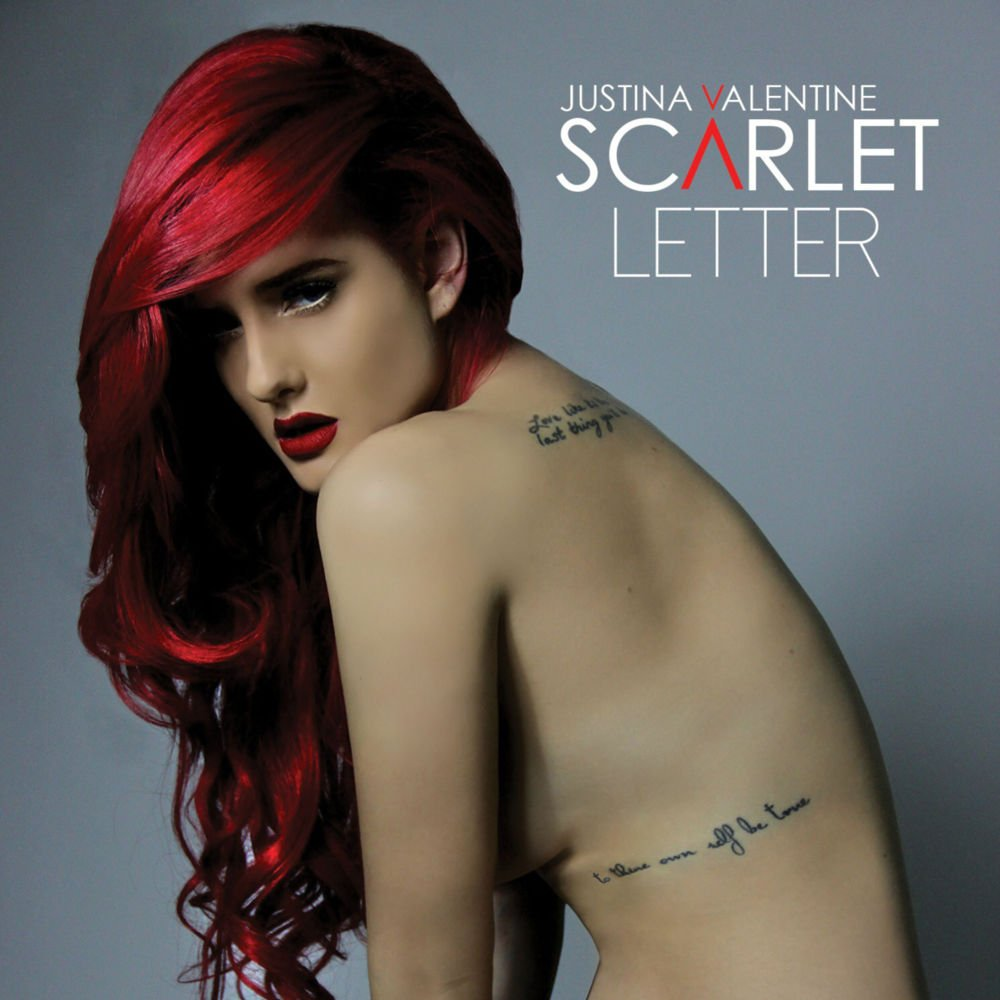 Justina Valentine Scarlet Letter Lyrics And Tracklist