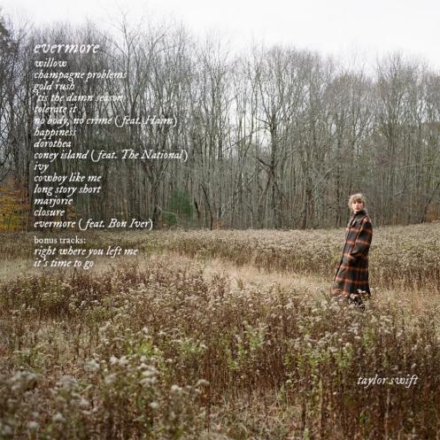 Taylor Swift - evermore Lyrics and Tracklist | Genius