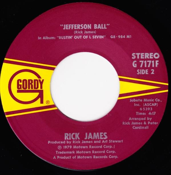 L Seven Bustin Out James Rick