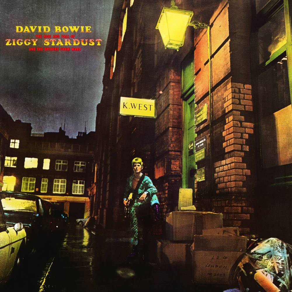 Image result for david bowie the rise and fall of ziggy stardust and the spiders from mars