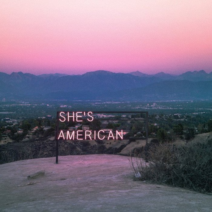Neon Fall Wallpapers The 1975 She S American Lyrics Genius Lyrics