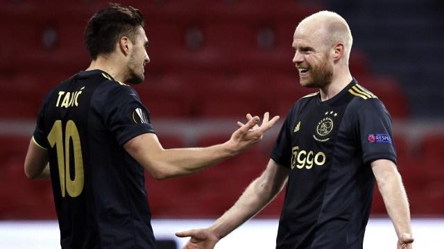 AS Roma - Ajax live op tv (kwartfinale Europa League)