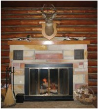 New Mr Flame 55322 Fireplace Radiator w/ Right Motor ...