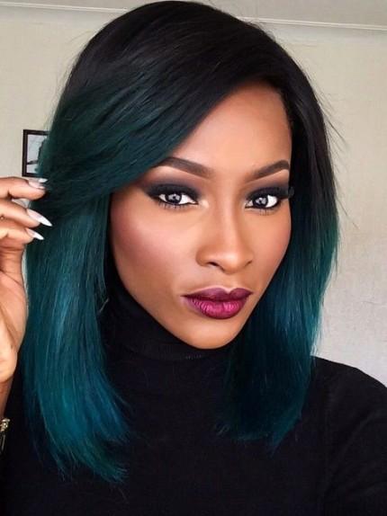 Dark Green Hair I Capelli Si Tingono Di Verde Glamourit