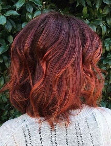 30 Long Bob Hairstyles Brown Hair Copper Hairstyles Ideas Walk