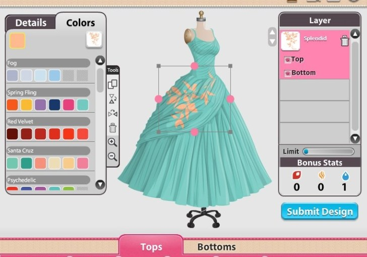 Design Your Own Clothes Games