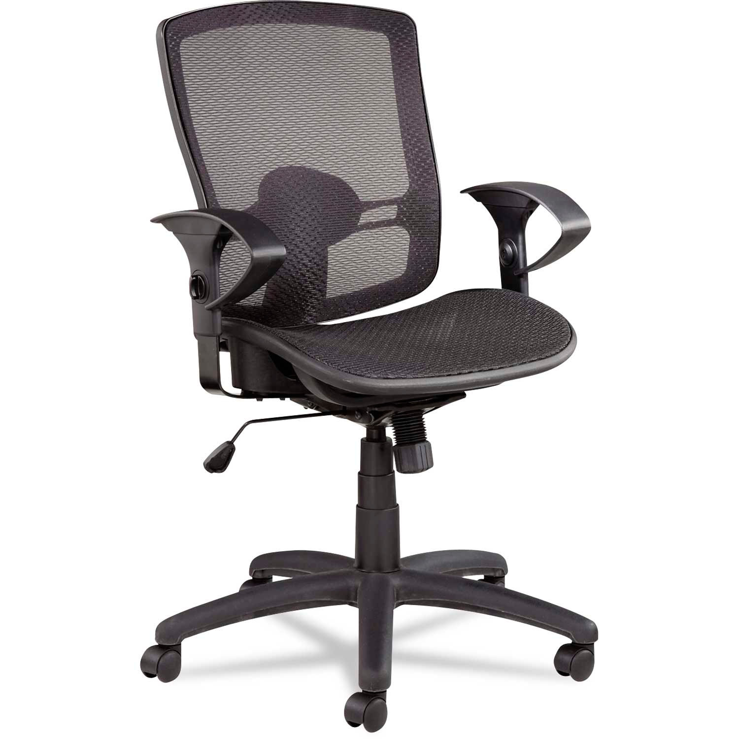 Alera Office Chairs Chairs Mesh Alera 174 Synchro Mesh Office Chair Mesh Seat