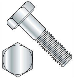 hex bolt diagram [ 1500 x 1500 Pixel ]
