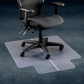 desk chair mat for carpet chairs small spaces mats office 36 quot w x 48 l with 20 10 lip straight edge 607899 globalindustrial com