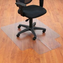 Office Chair Mat Dining Table And 6 Chairs Argos Mats For Hard Floor 36 Quot W X 48 L With 20 10 Lip Straight Edge 250797 Globalindustrial Com