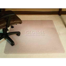 office chair mats for carpet cheap high covers chairs aleco 174 anchorbar mat 46 quot w x 60 l 200 thick beveled edge b770315