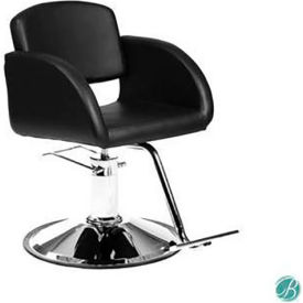 black salon chairs rental tables and spa equipment ayc group mette styling chair