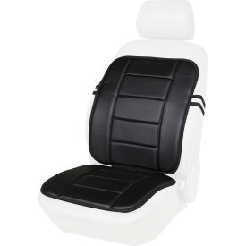 office chair comfort accessories clearance camping chairs cushions kool kooshion faux leather full seat cushion black b2219999 globalindustrial com