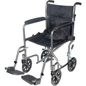 drive wheel chair white outdoor covers mobility aids wheelchairs light weight medical tr37e sv lightweight steel transport wheelchair fixed full arms 17 quot