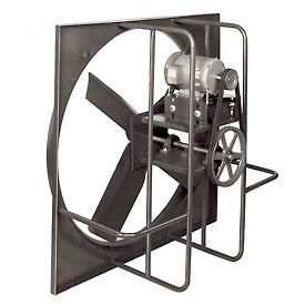 industrial duty belt drive wall exhaust