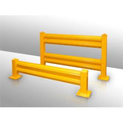 Corrugated Steel Chair Rail Oversized Zero Gravity With Canopy Guard Safety Systems Global Industrial Hallowell Rails