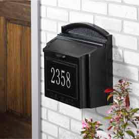 mailboxes residential wall mounted