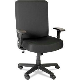 xl desk chair cover rentals baton rouge chairs big tall alera plus 8482 and task with arms fabric high back black series b1132207 globalindustrial com