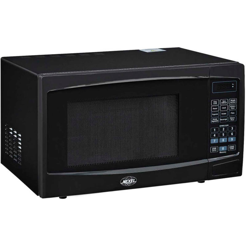 https www globalindustrial com p foodservice appliances commercial ovens nexel best value countertop microwave oven 1 1 cu 1000 watts touch control black finish