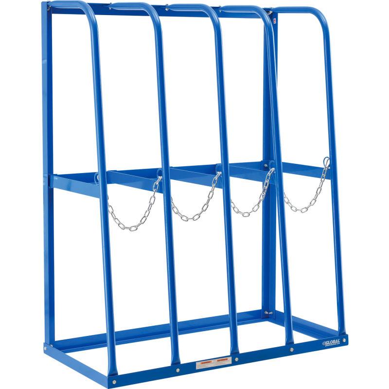 global industrial vertical bar storage rack 4 bays 48 w x 24 d x 60 h 6000 lb capacity