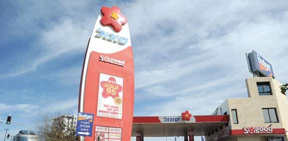 station d'essence Sonol