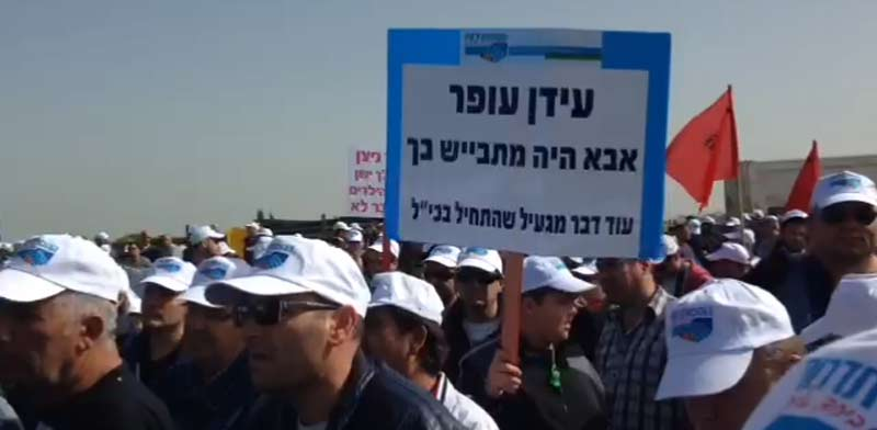 Israel Chemicals workers  photo: Histadrut