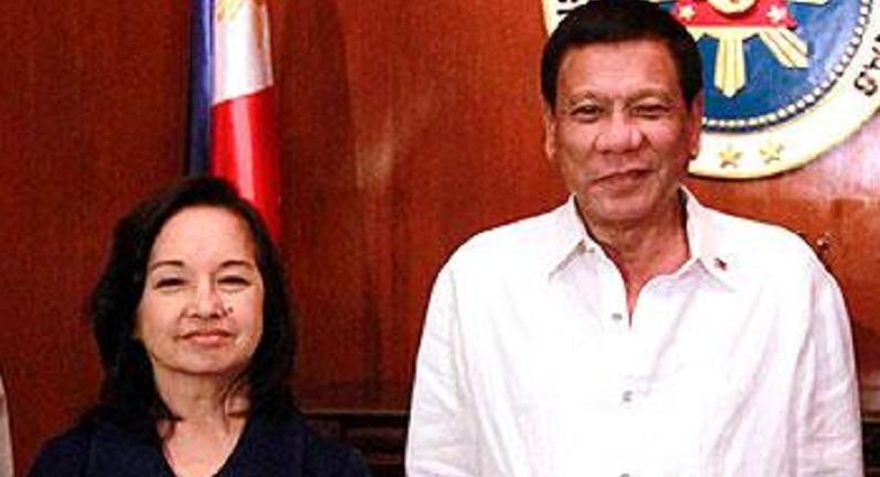 Image result for arroyo and duterte