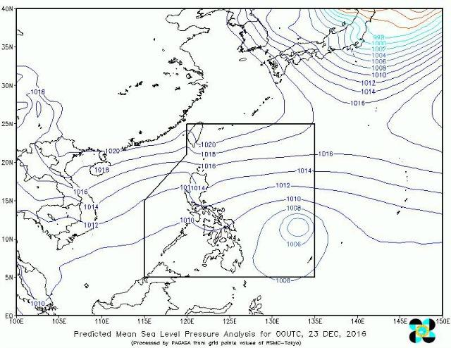 Isolated rains expected in Manila as Tropical Storm Nina