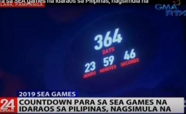 Countdown To 2019 Sea Games Begins Sports Gma News Online