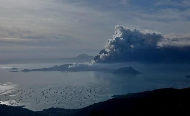 Persistent Quakes Lava Fountain Mean Taal Volcano Not Yet