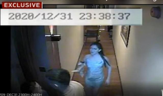 CCTV footage captured Christine Dacera's last hours at hotel