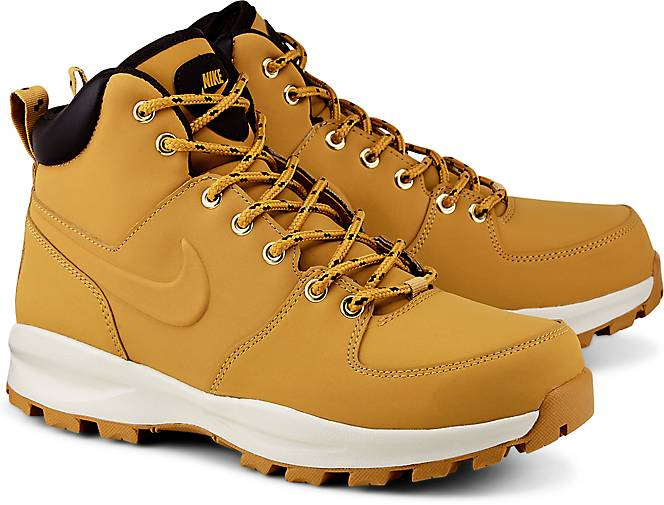 ac1837d7371 Botas Caminata Nike Acg Piel Manoa Negra Suela Terra Gym