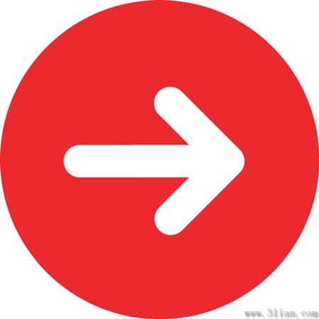 紅色箭頭圖示-向量圖示-免費向量 免費下載