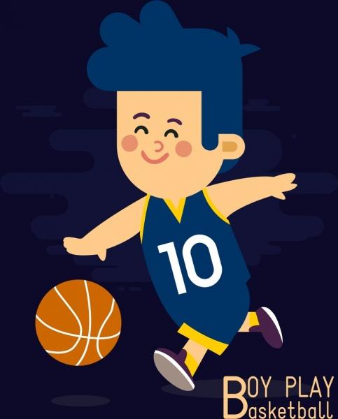 Gambar Bermain Basket Kartun : gambar, bermain, basket, kartun, Kanak-kanak, Gambar, Laki-laki, Bermain, Basket, Kartun, Berwarna-, Vektor-vektor, Gratis, Download