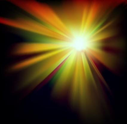 Lampu Meledak Abstrak Latar Belakang Vektor GrafisVektor