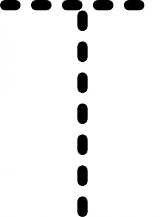 Alphabet Tracing Letter T Clip Art-vector Clip Art-free