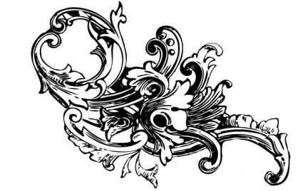Barock Ornament Vektoren Vol1-Vektor-misc-Kostenlose