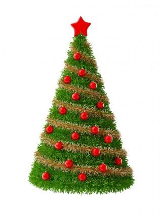 Pohon Natal Yang Indah Hd Gambarmerahgratis Foto