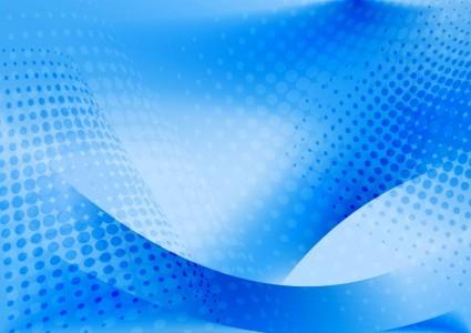 Arte De Vectores De Fondo Abstracto AzulResumen De Vector