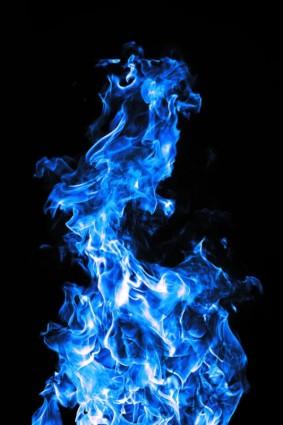 Api Biru Yang Brilian Hd Gambarbirugratis Foto Download