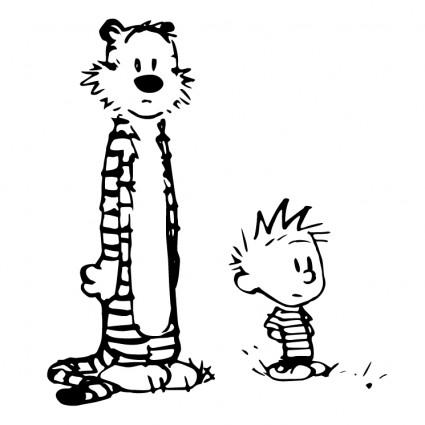 Calvin And Hobbes-vector Logo-free Vector Free Download
