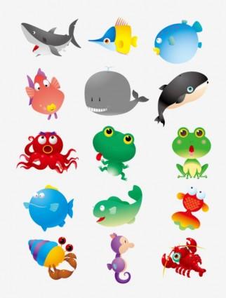 Ikan Gurame Vector : gurame, vector, Kartun, Hewan, Vector-kartun, Vektor-vektor, Gratis, Download