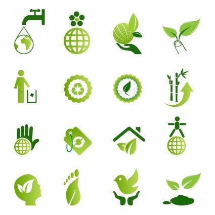 綠色環保圖示-向量圖示-免費向量 免費下載