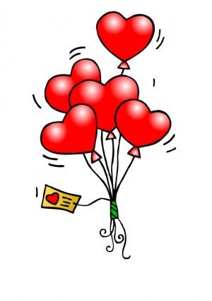 herz-ballons-vektor-clipart-kostenlose