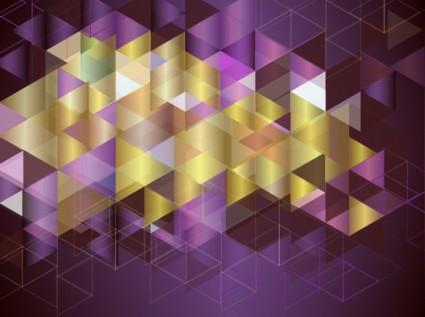 Latar Belakang Warnawarni MosaikVektor Abstrakvektor