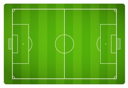 Lapangan Sepak Bolavektor Olahragavektor Gratis Download