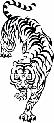 Tiger-vector Misc-free Vector Free Download