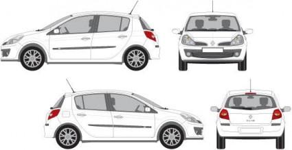Vektor-Autos-Vektor-Auto-Kostenlose Vector Kostenloser